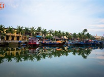 Hoi An ancient city in the spring
