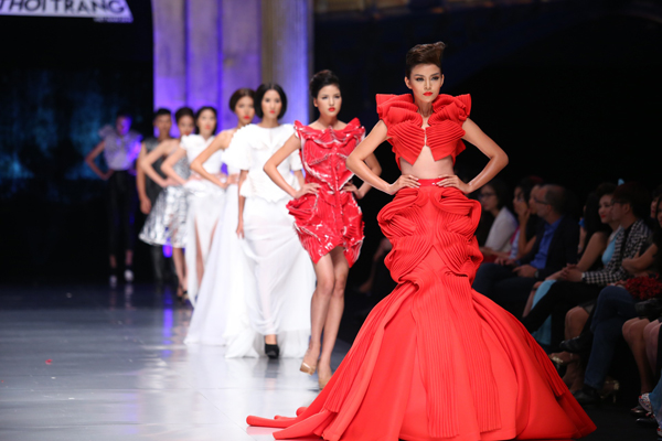 Ministry Of Culture Sport And Tourism Portal Fashion Four Talented Viet Fashion Designers Born After 1990s